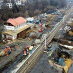 Dworzec w Krakowie - Swoszowicach - 05-02-2021