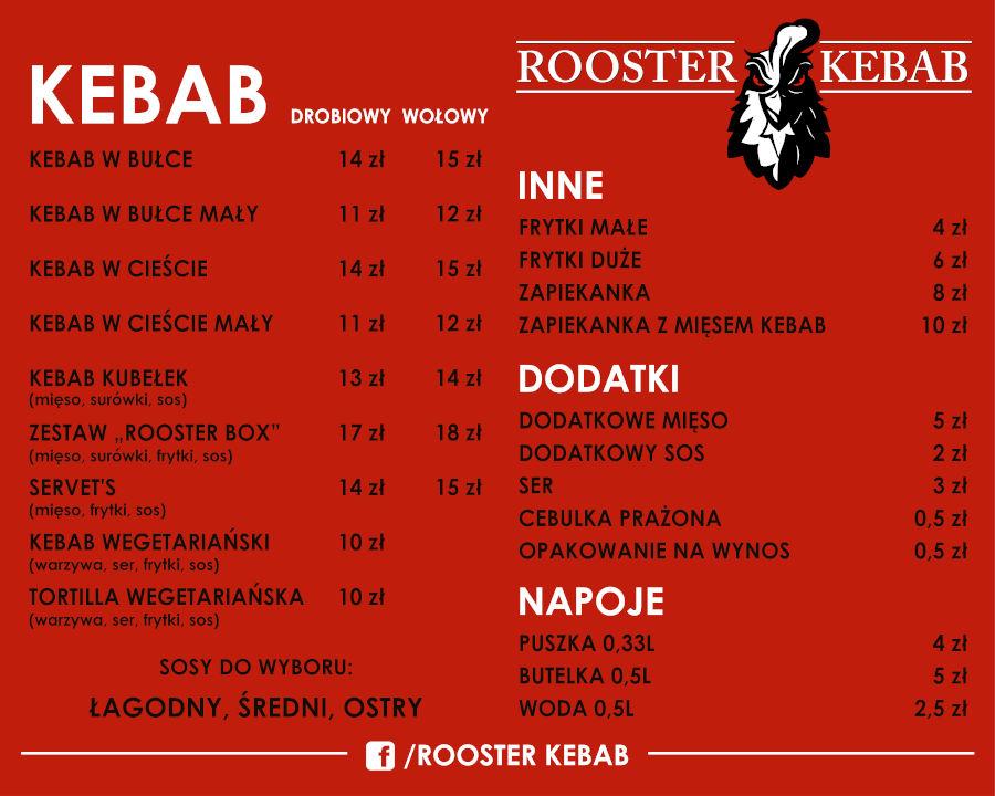 Rooster Kebab Kraków