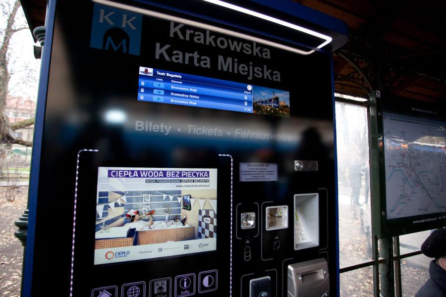 biletomaty Kraków