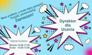 Spotkania dla uczniów z Dyrektorem SP nr 43 w Krakowie